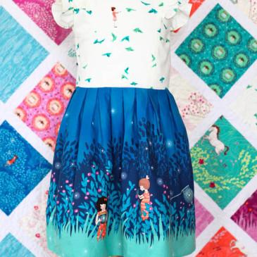 Free Girls Dress Pattern: Wee Wander Dress