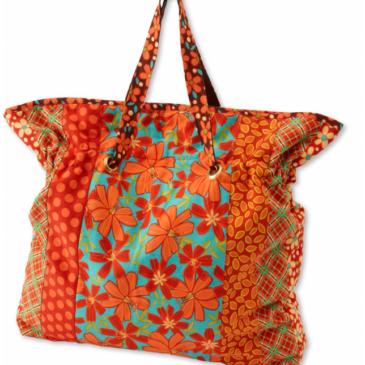 FREE Bag Pattern: Cinch It Tote Bag