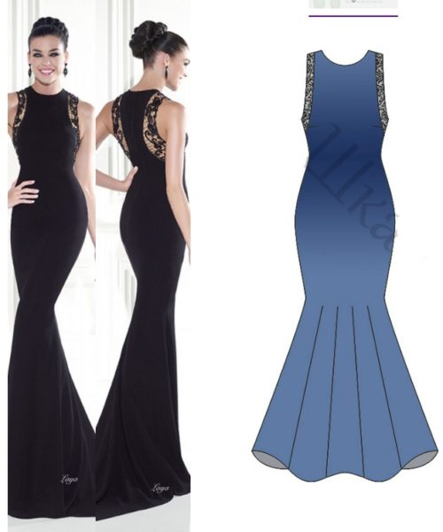 Evening Dress Pattern Free My Handmade Space
