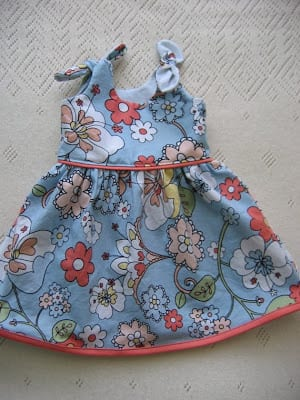 Free Newborn Dress Pattern