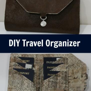 DIY Travel Organizer