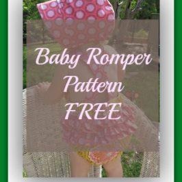 Baby Romper Pattern FREE