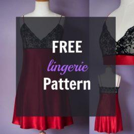 Free Lingerie Pattern: The Ruby Slip