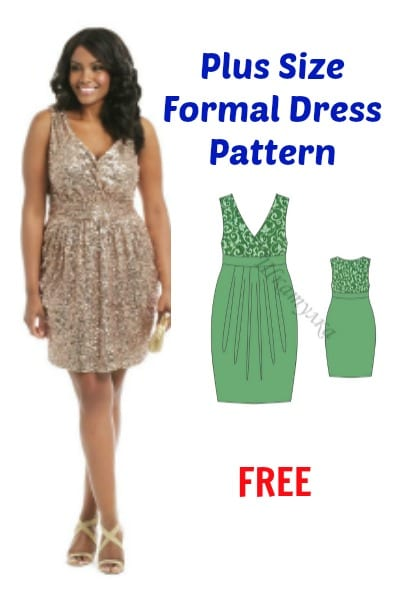 Plus Size Dress Patterns To Sew - Cheap Party Dresses