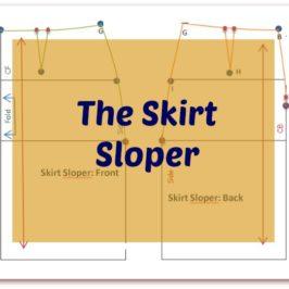 How to make a Skirt Sloper