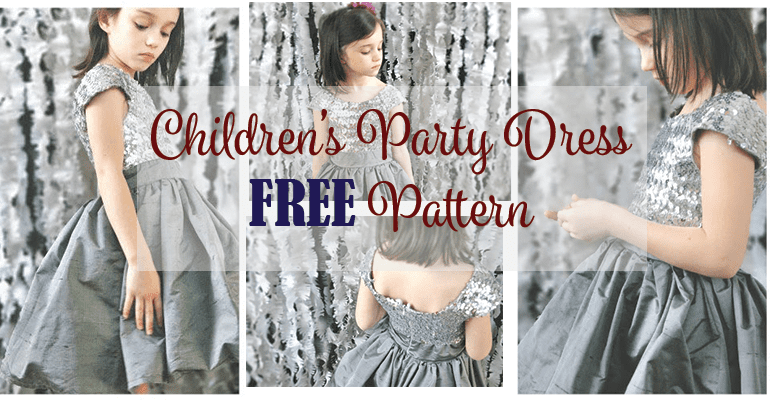 Children's Party Dress Pattern FREE