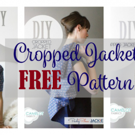 Cropped Jacket FREE Pattern and Tutorial
