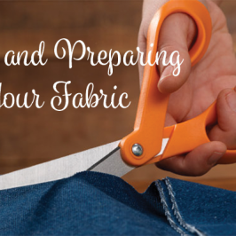 Pencil Skirt: Cutting & Preparing Your Fabric
