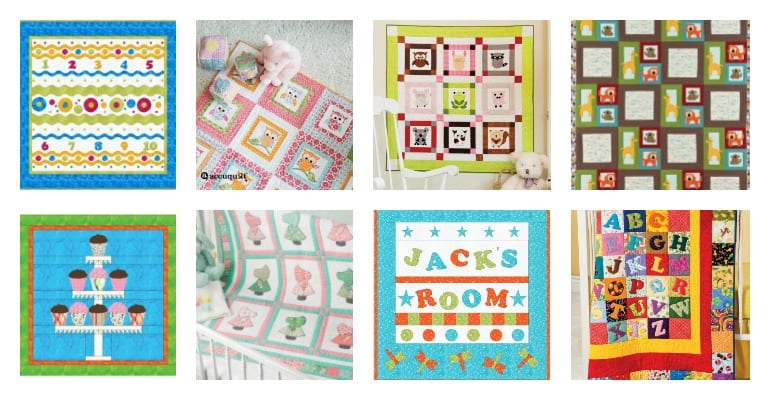 15 FREE Baby Quilt Patterns