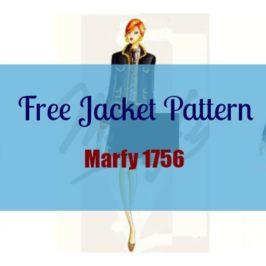 Marfy 1756 – Free Jacket Pattern