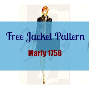 Marfy 1756 – Free Jacket Pattern