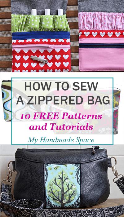 How to Sew a Bag, Zipper Bags, Zipper Pouches