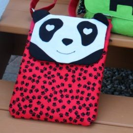 Panda Tablet Bag