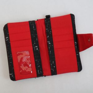Black and Red Adi Wallet