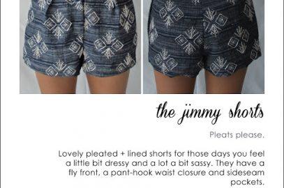 Jimmy Shorts Pattern FREE
