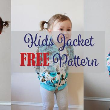 Kids Jacket FREE Pattern