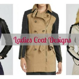 Ladies Coat Designs: Trench Coat