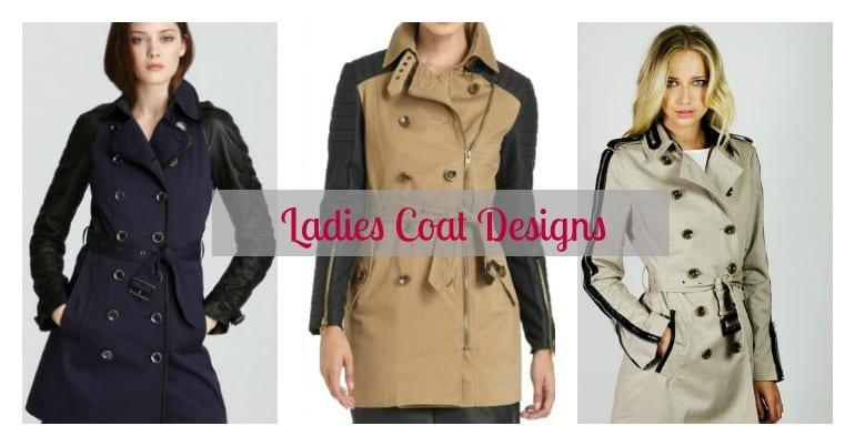 Ladies Coat Designs: Trench Coat