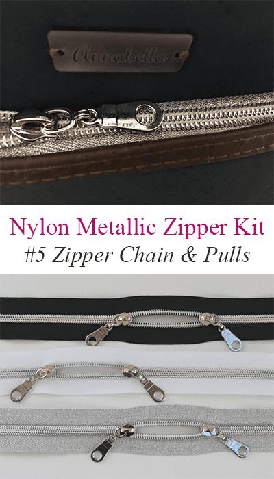 Nylon Metallic Zipper
