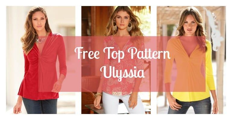 Free Top Pattern Ulyssia