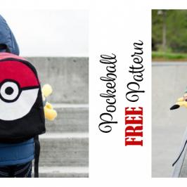 Pockeball Backpack FREE Pattern