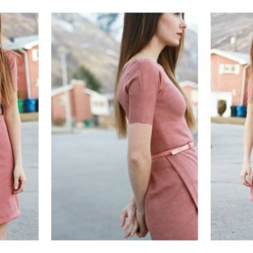 Asymmetrical Design – FREE Dress Pattern