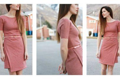 Asymmetrical Design – FREE Dress Pattern