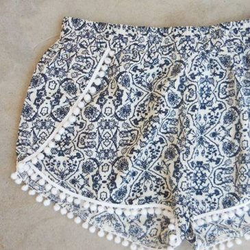Free Shorts Pattern: Boudoir Shorts