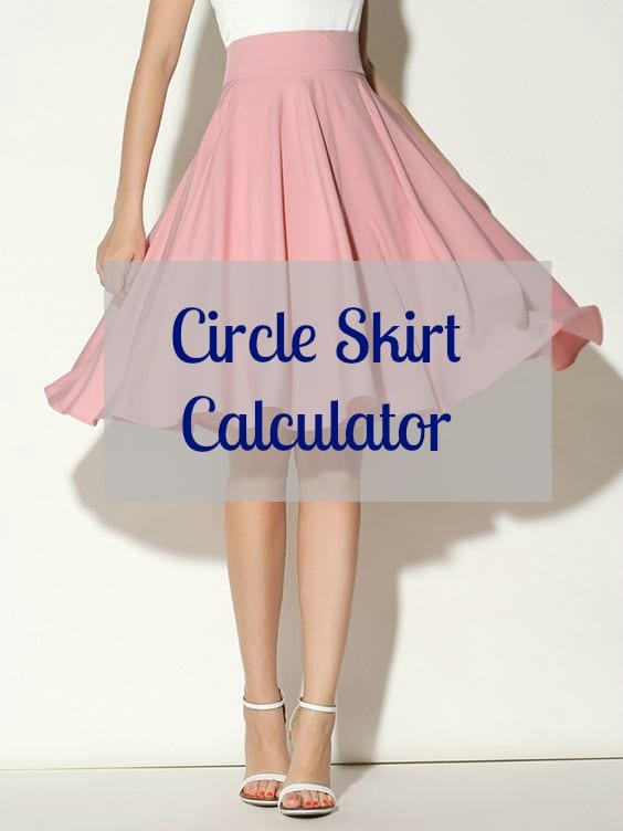 the gallery for gt circle skirt pattern chart