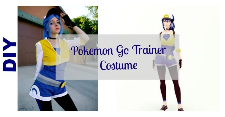 DIY Pokemon Go Costume – girls version