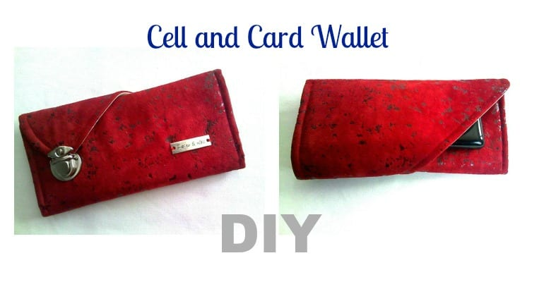 DIY Wallet: Cell and Card Wallet Pattern FREE