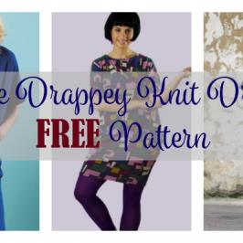 The Drapey Knit Dress FREE