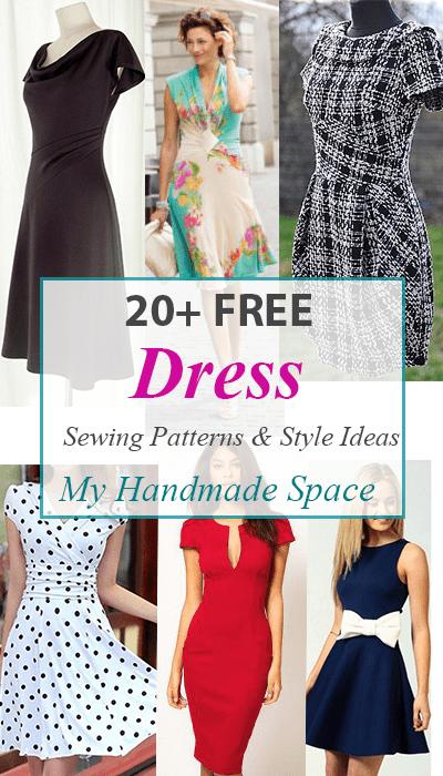 Free Dress Patterns My Handmade Space