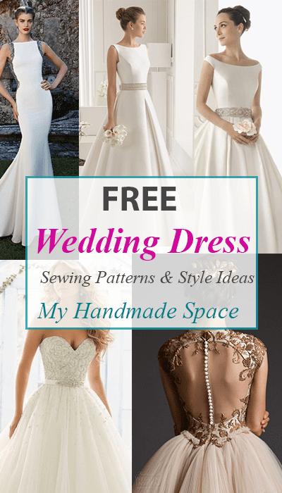 Free Wedding Dress Sewing Patterns My Handmade Space
