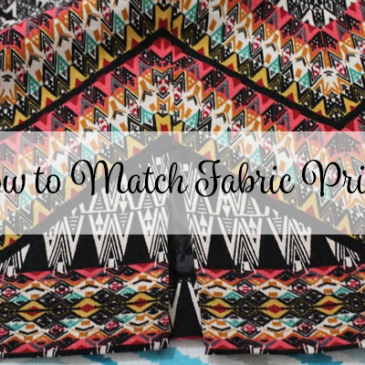 How to Match Fabric Prints