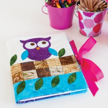 Owl Notebook Cover Pattern FREE