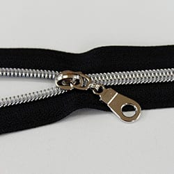 nylon metallic zipper