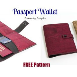 Passport Wallet FREE Pattern