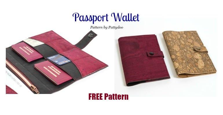 Passport Wallet FREE Pattern