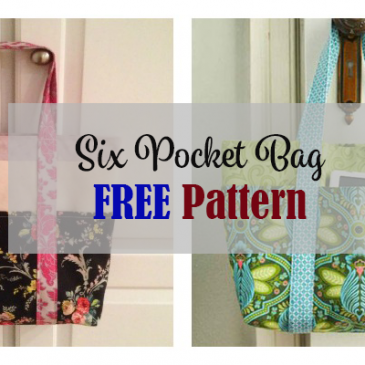 Six Pocket Bag FREE Pattern