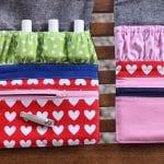 Zipper Pouch, Manicure Wallet, Free pattern