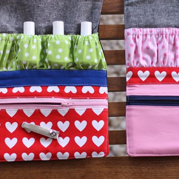 How to Sew a Zipper Bag: 10 FREE Patterns & Tutorials
