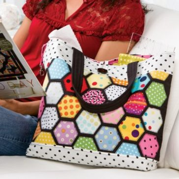 Stained Glass FREE Tote Pattern