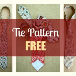 Tie Pattern Free