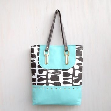 Tiffany Tote Sewing Pattern FREE